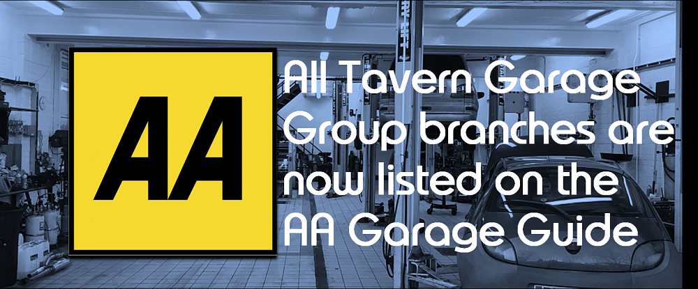 Tavern Garage Group is now listed in the AA Garage Guide